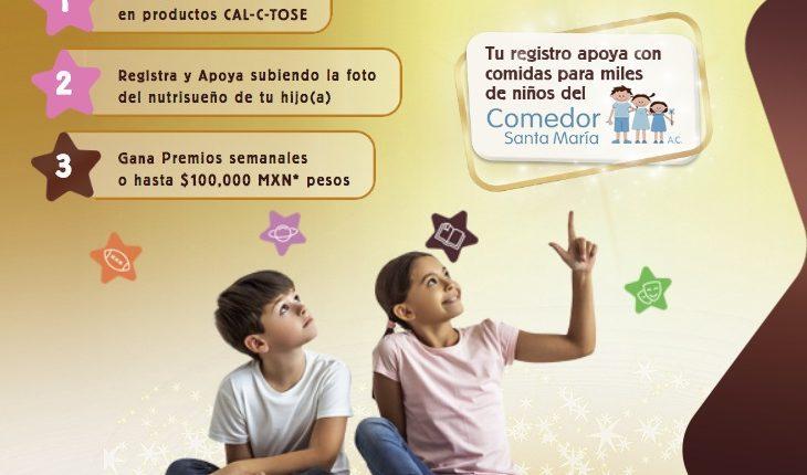 Promoción Cal-c-tose Nutrisueños: Gana premios semanales y hasta $100,000 en calctose.com.mx