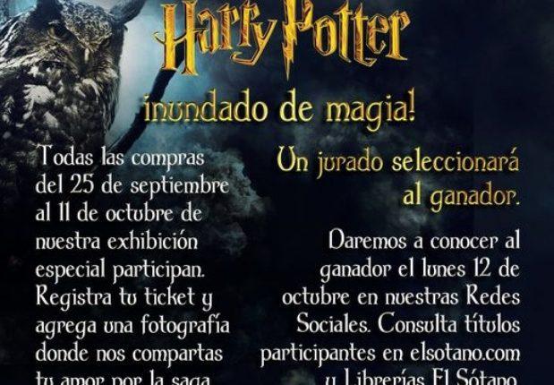 Concurso El Sótano Harry Potter: Gánate un kit con material de la saga