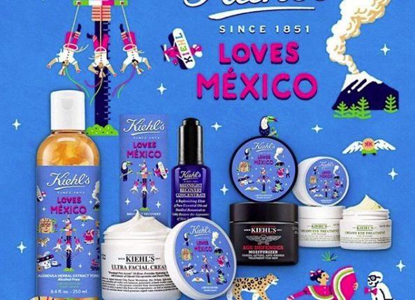 Concurso Kiehl's Loves México: Gana un kit Kiehl's con valor de $4,150