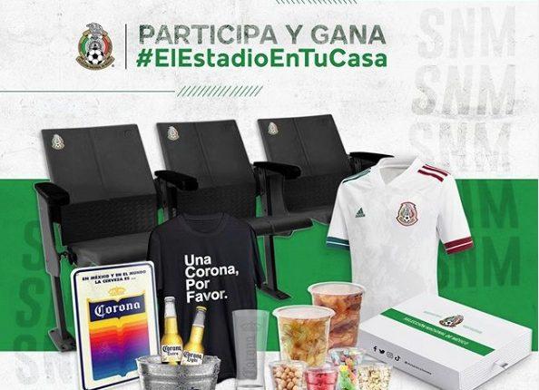 Concurso Mi Selección: Gana 1 de 5 kits de El Estadio en tu Casa