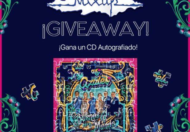 """Mixup regala 4 CDs """"De Buenos Aires Para El Mundo"""" autografiados por Los Ángeles Azules"""