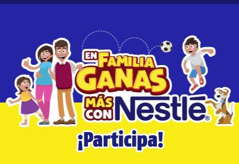 Promoción En Familia Ganas Más con Nestlé: Gana laptops, tablets y más en enfamiliaganasmas.com.mx