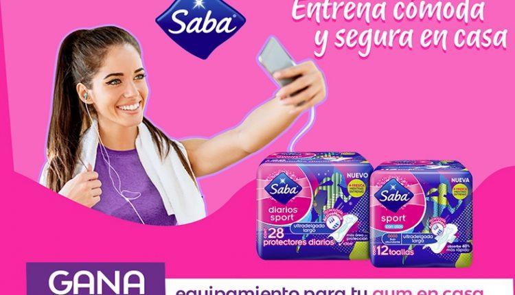 Promoción Entrena con Saba Sport: Gana caminadora, bicicleta fija, kits y más en entrenaconsaba.com