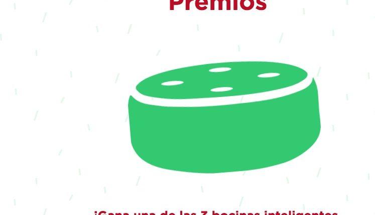 Promoción Tus Momentos Salvo: Gana 1 de 3 bocinas inteligentes en promocionsalvomultiusos.com