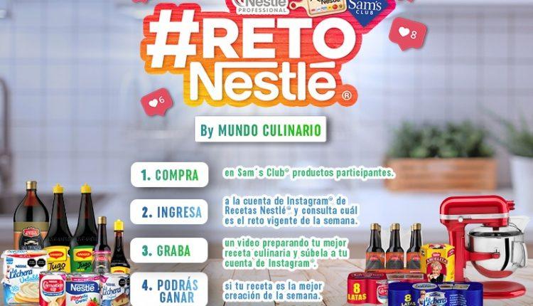 Concurso Mundo Culinario Reto Recetas Nestlé y Sams Club: registra tu receta y gana iPads en promomundoculinario.com