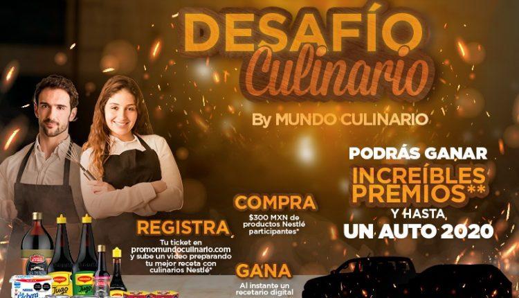 Promoción Desafío Culinario Nestlé Sams Club: Gana autos, remodelación y más en promomundoculinario.com