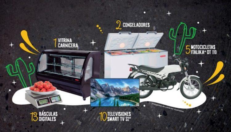 SuKarne regala motos Italika, pantallas, refrigeradores y más por el mes de la patria en promocionessukarne.com