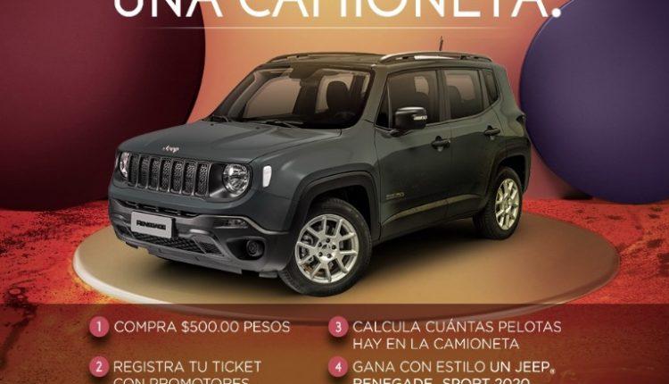 Concurso The Landmark compra, calcula y gana un Jeep Renegade 2020
