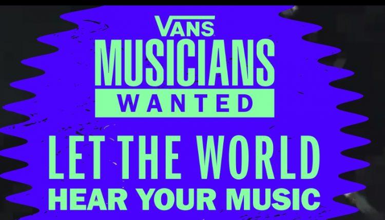 Concurso Vans Musicians Wanted 2020: Gana $2,500 dólares para video, guitarra, batería, abrir concierto y más