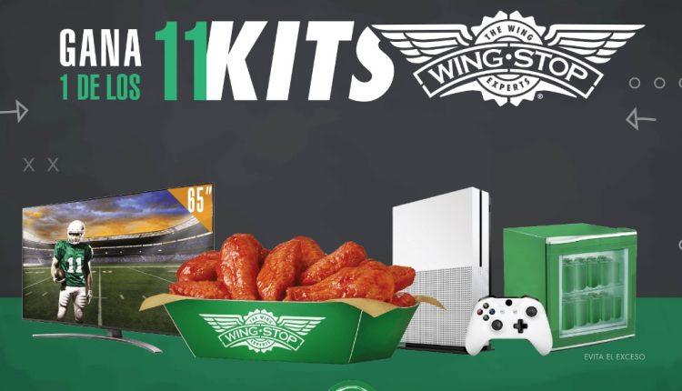 Promo Wingstop 11 Aniversario NFL 2020: Gana kit con pantalla, consola, frigobar y más