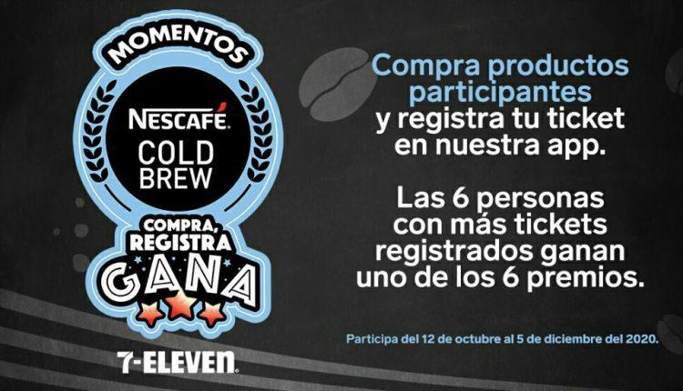 Promoción 7-Eleven Momentos Nescafé Cold Brew: Gana AirPods, tablet, audífonos y más