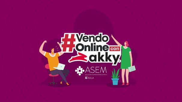 Dinámica Vendo Online Con Akky: Gana servicios digitales necesarios para crear tu tienda en línea