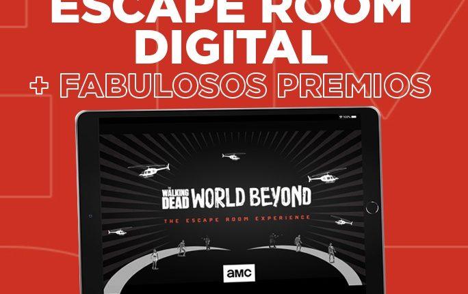 Concurso Club AMC: Gana un Escape Room Virtual de The Walking Dead y premios sorpresa
