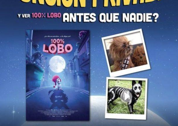 Gana una función privada de la película 100% Lobo en el concurso de Cinemex