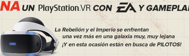Concurso Game Planet Star Wars Squadrons: Gana un Playstation VR