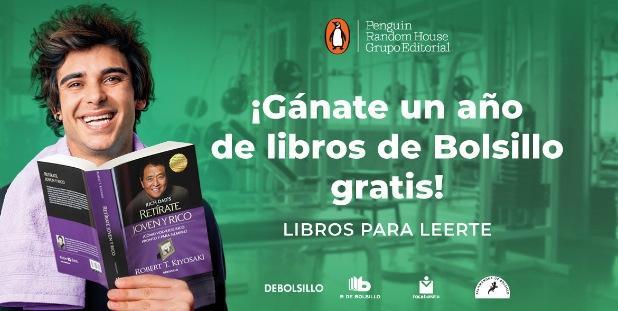 Concurso Gandhi De Bolsillo: Gana 1 año de libros Gratis