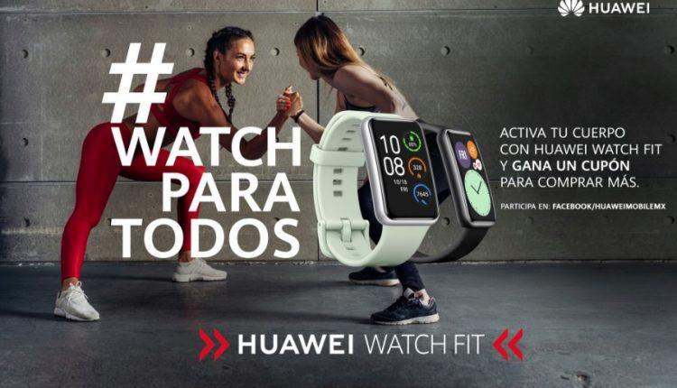 Promoción Huawei Watch para Todos: Gana cupones de $200 todos los días