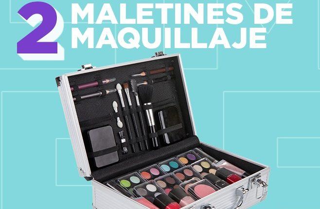 Concurso Club Más Chic: Gana 1 de 2 maletines de maquillaje