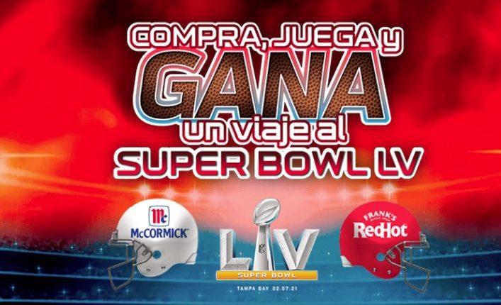 Promoción McCormick NFL: Gana un viaje al Super Bowl LV en contodoalsuperbowlmcnfl.com.mx