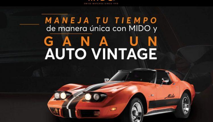 Concurso Mido Commander: Gana un auto Corvette vintage año 1977