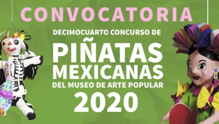 Concurso de Piñatas Mexicanas 2020 del Museo de Arte Popular: Gana de $10,000 a $20,000 pesos