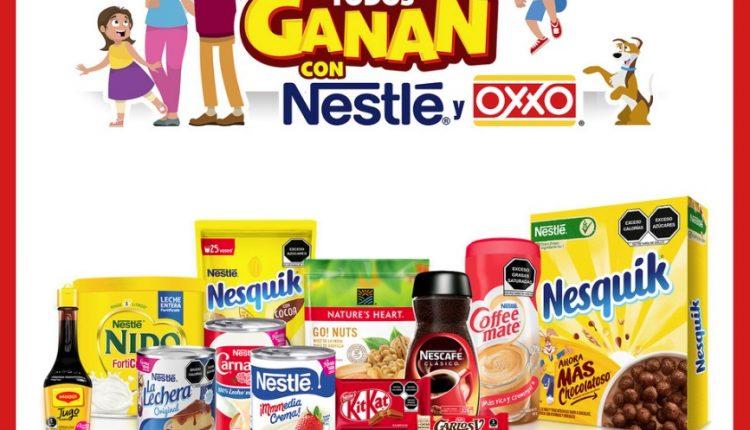 Concurso Oxxo y Nestlé en Familia Todos Ganan 2020: Gana hasta $100,000 pesos