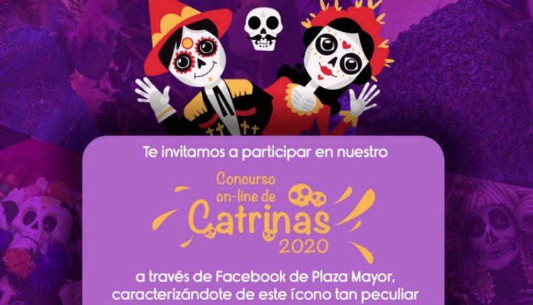 Concurso online de Catrinas 2020 Plaza mayor: Gana 1 de 3 premios