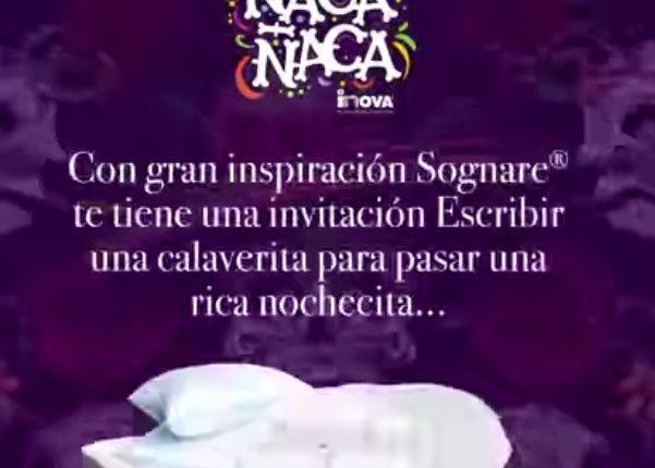 Concurso de Calaveritas Sognare: Gana un pack de Almohadas + Cubre Colchón Sognare