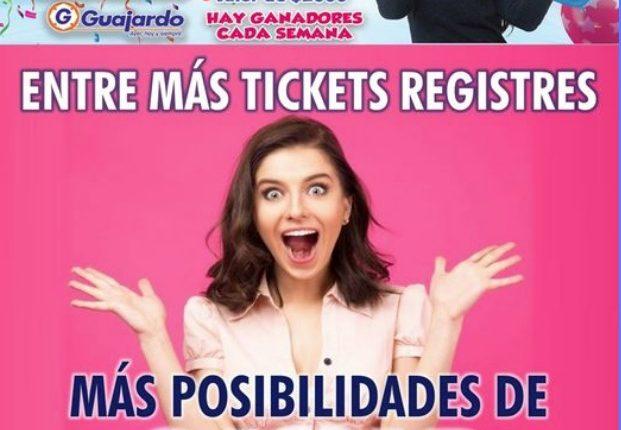 Promoción Super Guajardo 61 Aniversario: Registra tu ticket y gana 1 de 175 despensas de $2,000