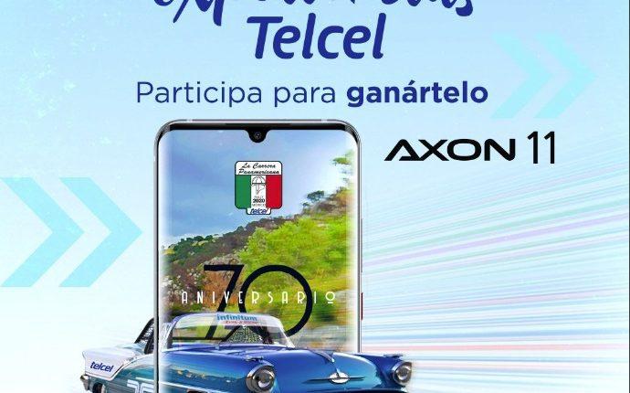 Gana un smartphone ZTE Axon 11 edición especial con Telcel