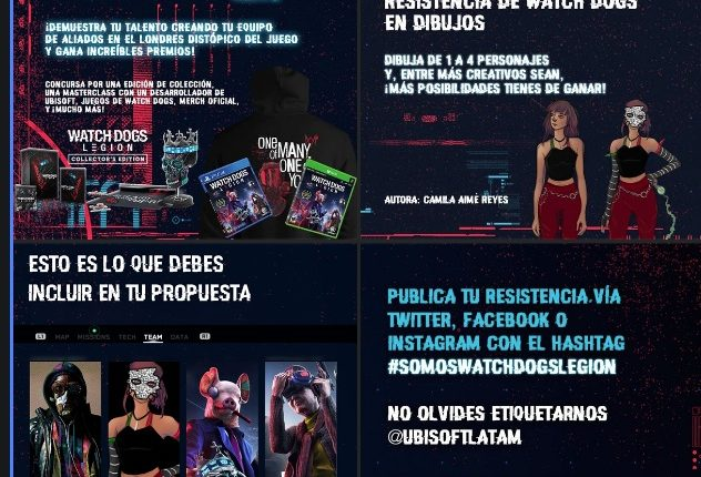 Concurso Ubisoft Somos Watch Dogs Legion: Gana un Collector's Edition, merch oficial y más