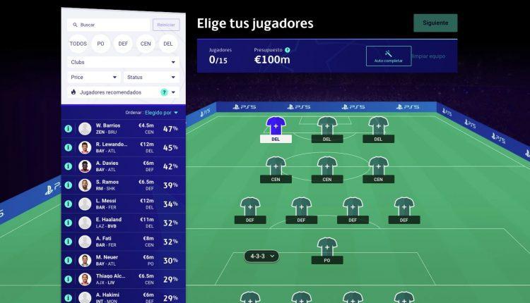 Futbol de Fantasía UEFA Champions League 2020-2021: Gana consola PS5, videojuegos FIFA 21 y más