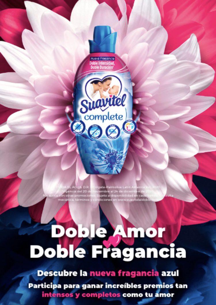 Promo Suavitel Doble Amor Doble Fragancia: Gana premios diarios y una lavasecadora en suavitelaldoble.com