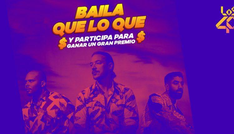 Concurso Los 40 Baila QueLoQue: Gana hasta $5,000 pesos