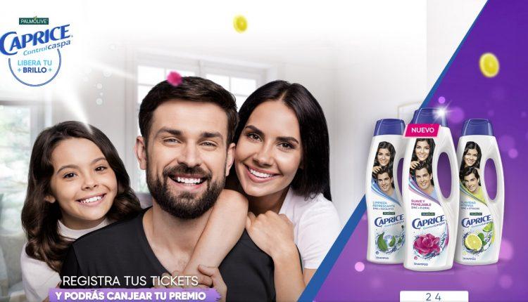 Promoción Caprice Libera tu Brillo: Gana gift cards para servicios streaming, monederos electrónicos y más en capriceliberatubrillo.com