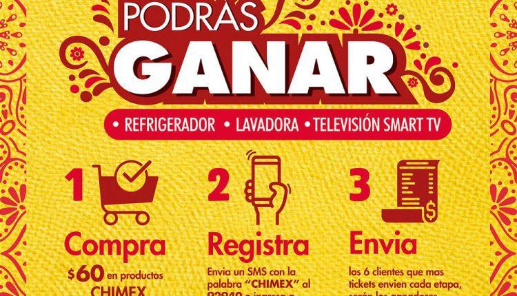 Concurso Casa Ley y Chimex: Gana refrigerador, lavadora o Smart TV