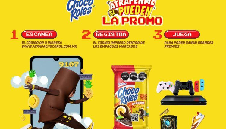Promoción Choco Roles Atrápenme si Pueden: Registra tu código y gana consolas de videojuegos en atrapachocorol.com.mx