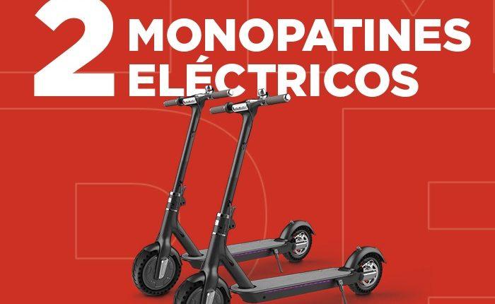 Concurso Club AMC: gana 1 de 2 monopatines eléctricos