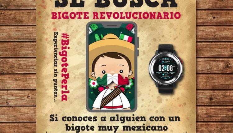 Gana un smartwatch en la dinámica Bigote Revolucionario de Gas Perla