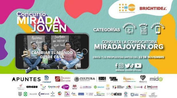 Concurso Mirada Joven de Expresión Creativa: Gana reconocimientos y más