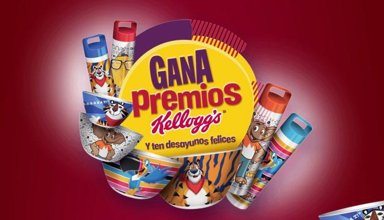 Promo Kelloggs Gana Premios 2020: Gana uno de los 55 premios diarios