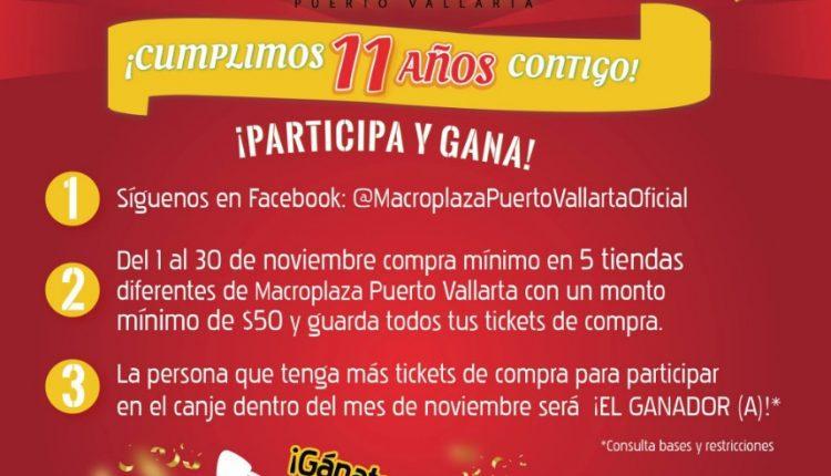 Concurso Macroplaza Puerto Vallarta: Gana una moto