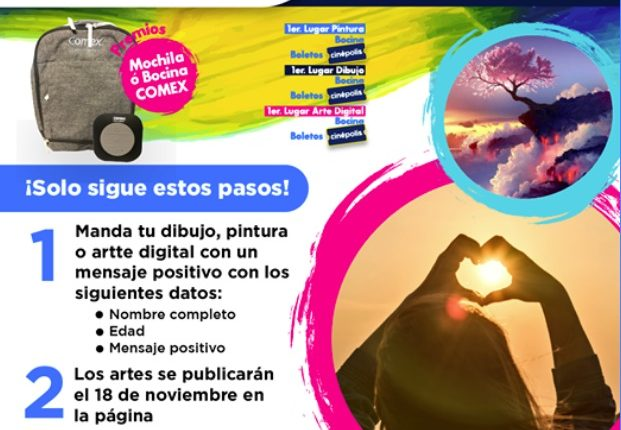 Gana bocinas, boletos Cinépolis y más en el concurso de Arte de Plaza Sendero Ixtapaluca
