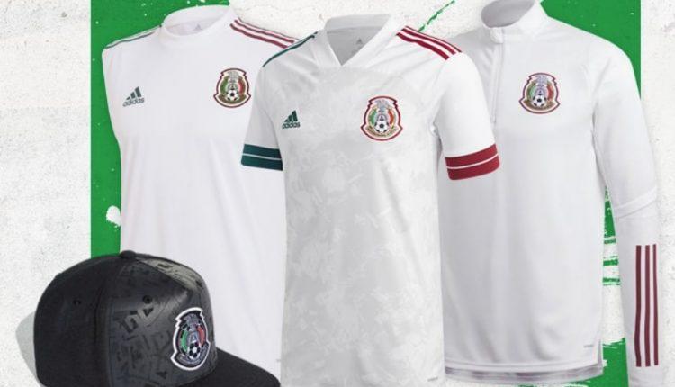 Gana kits y jerseys Adidas de la Selección Mexicana de Fútbol