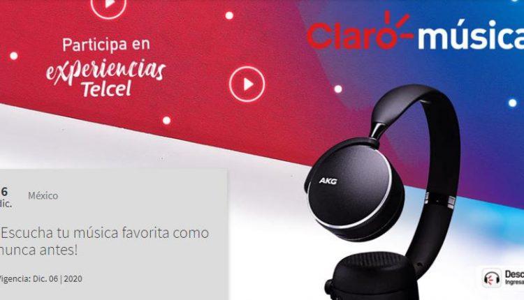 Gana 1 de 4 pares de audífonos AKG con Claro Música y Telcel