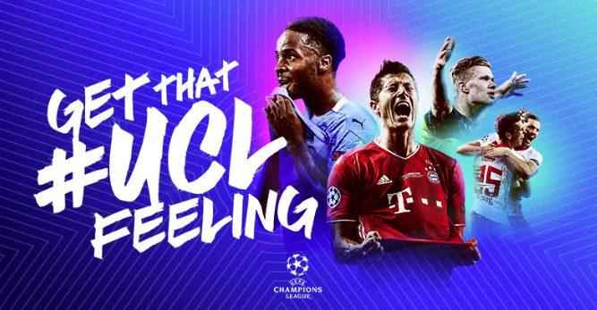 Concurso Champions League UCL Feeling: Gana jersey autografiado, kit de productos y más