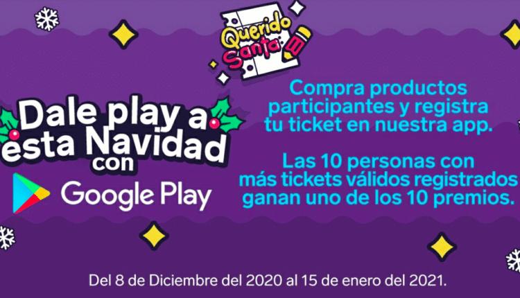 Promo 7-Eleven Google Play Navidad 2020: Gana pantalla, Nintendo Switch y más