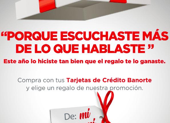 Promoción Banorte De Mí para Mí 2020: Gana certificados de regalo y más en demiparami.mx