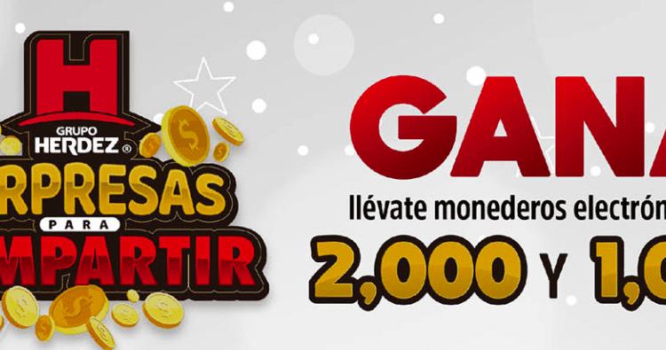 Promoción Herdez y Casa Ley: Gana monederos electrónicos de $1,000 y $2,000