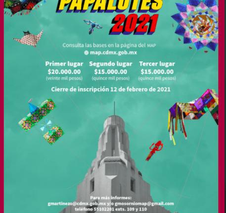 Concurso Papalotes 2021 del Museo de Arte Popular: Gana hasta $20,000 pesos